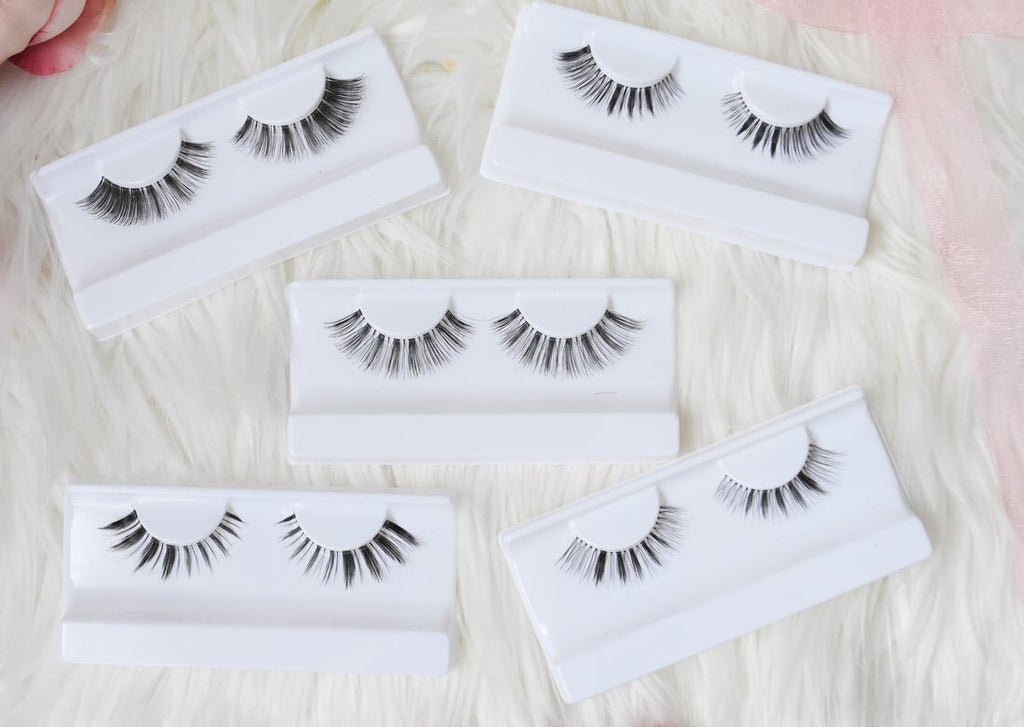Full set of Synthetic Lashes (5)