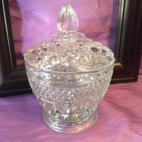 Candy Dish ~ Clear Glass ~ Small ~ Bowls