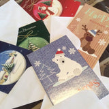 Christmas Cards With Envelopes - 5 Pack Variety