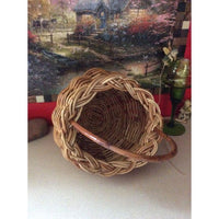 Round Wooden Basket