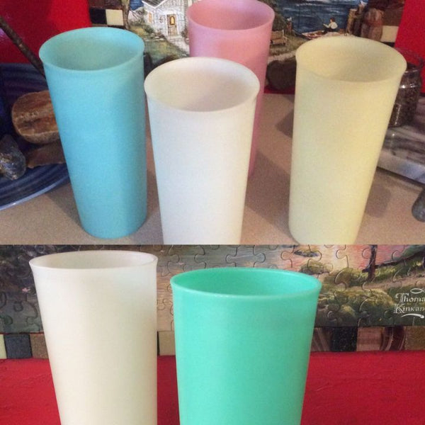 Tupperware ~ Set of 6~ Drinking Cups