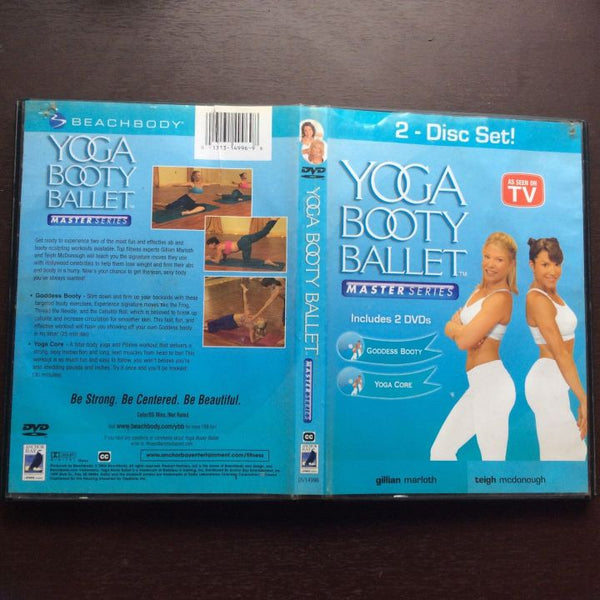 Yoga Booty Ballet ~ Master Series ~ 2 DVD Set