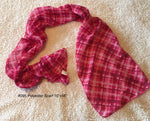 "#095 Plaid Polyester Scarf 10""x58"""