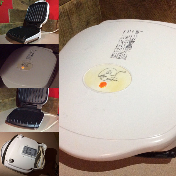 George Foreman Lean Mean Fat Grilling Machine ~ NO Tray Included