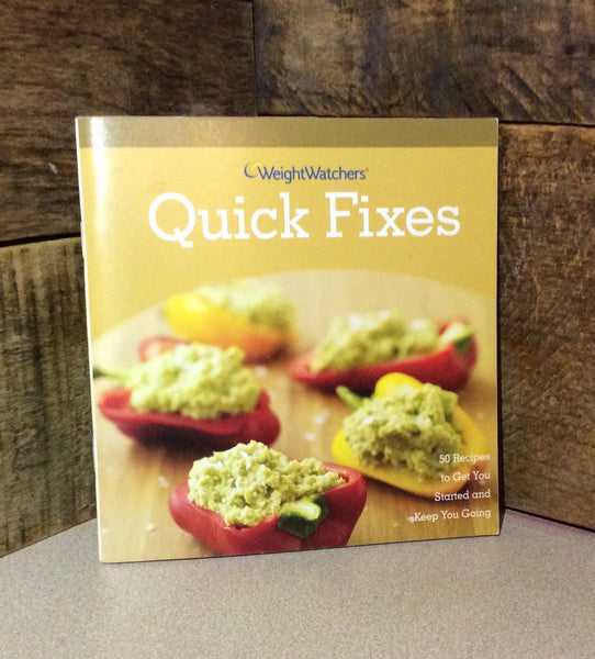 Quick Fixes ~ Weight Watchers ~ 50 Recipes To Get You Started Book