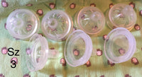 #219 Set of 7 Size 3 Avent Bottle Nipples