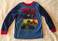 #098 Sz 6/7 Superhero Sleep Shirt - Avengers