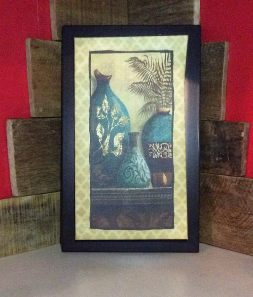 Wall Hanging Decor ~ 3 Vase Picture