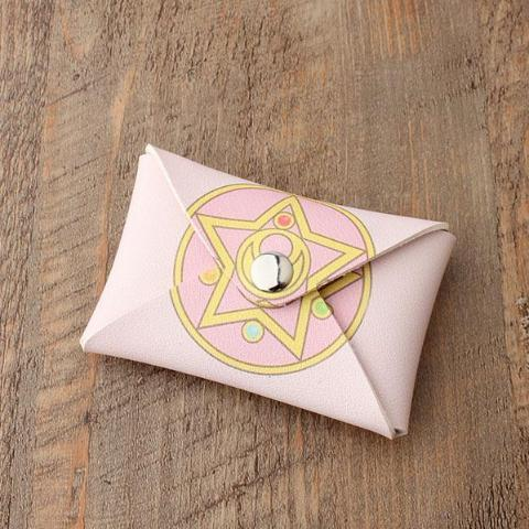 Sailor Moon Coin Bag / Card Holder - Pink Moon Prism Power