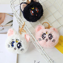 Fluffy Luna Key Chain