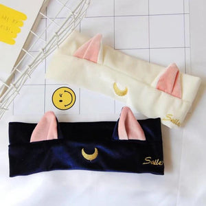 Sailor Moon Luna Cat Ear Headband