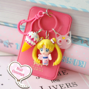Sailor Moon Collection Card Holder/Keyhain
