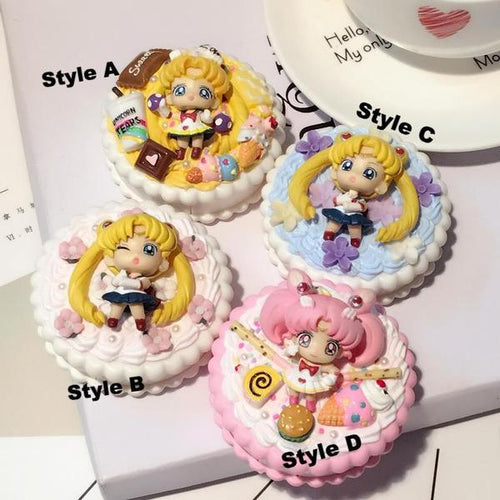 Handmade 3D Kawaii Moon Contact Lenses Box