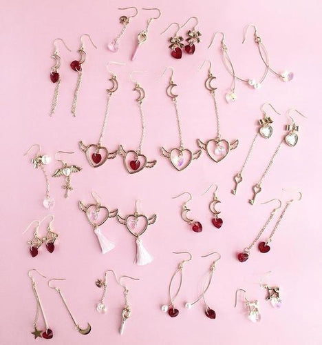 Sailor Moon Mystical Weapons Earrings Series (16 Styles)