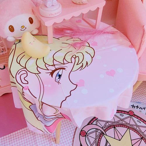 Dreamy Sailor Moon Tapestry / Table Cloth