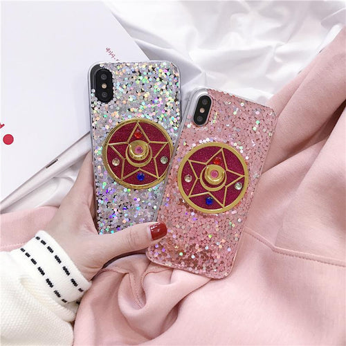 Moon Crystal iPhone Case (iPhone 6 / 6S / 6+ / 7 / 7+ / 8 / 8+ / X)