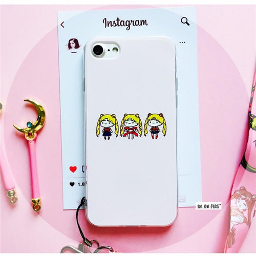 Mini Usagi Makeup iPhone Case (iPhone 5 / 5s / 6 / 6+ / 6s / 6s+ / 7 / 7+ / 8 / 8+)
