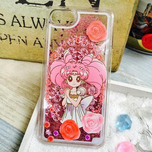 Sailor Princess Floating Glitter Case (iPhone 6 / 6+ / 6s / 6s+ /7 / 7+)
