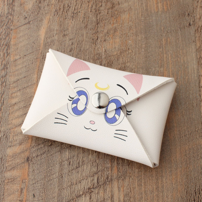 Sailor Moon Coin Bag / Card Holder - White Artemis