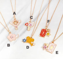 Card Captor Sakura Themed Necklace