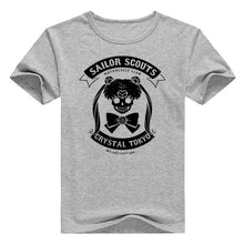 Sailor Scouts Dark Crystal T-shirt
