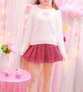 Kawaii Heart Shape Sweater