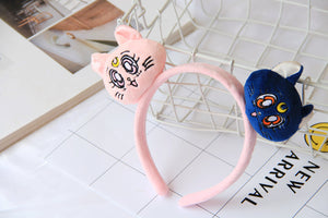 Luna&Artemis Plush Toy Hair Accessories (Headbands, Hair Ties, Head Wraps)