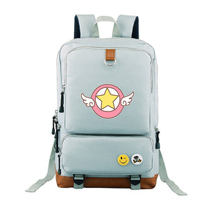 Sakura Card Captor Canvas Backpack
