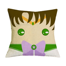 Sailor Moon Warriors Linen Cushion Cover