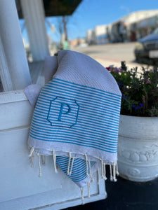 Turkish Towel - The Monogram Shoppe