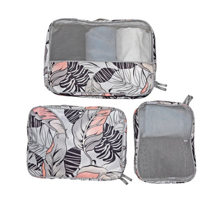 3 Piece Packing Cube Set - The Monogram Shoppe