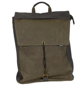 Wax Canvas Backpack - The Monogram Shoppe