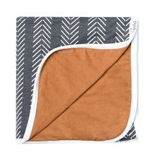 Copper Pearl Three-Layer Security Quilt - The Monogram Shoppe