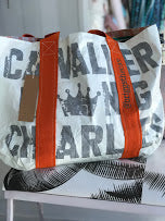 *Custom Made/Limited Run* Cavalier King Charles Ultra Light Tyvek® Reversible Tote Bag - The Monogram Shoppe