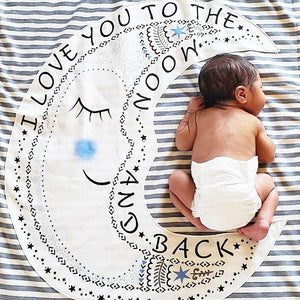Lil'Be Magic the Moon Blanket - The Monogram Shoppe