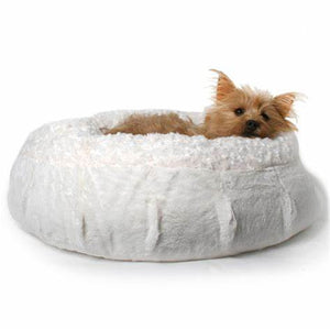 Animals Matter® Katie Puff® Luxury Dog Bed - The Monogram Shoppe