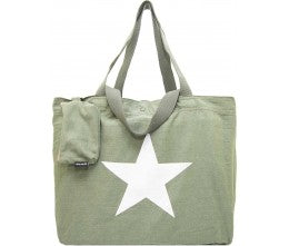 Star Washed Canvas Bag - The Monogram Shoppe