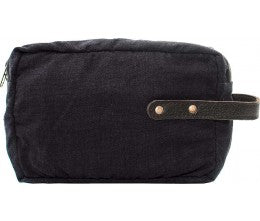 Canvas Shaving Bag - The Monogram Shoppe