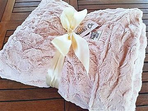 KeikiCo Luxury Couture Blanket - The Monogram Shoppe