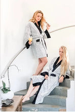 KeikiCo Luxury Shorty Robe - The Monogram Shoppe
