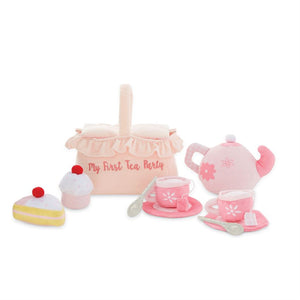 My First Tea Party Plush Play Set - The Monogram Shoppe