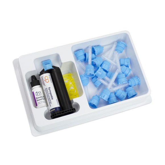 Core Paste Syringe White with Fluoride Self-Cure Refill Kit