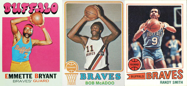 buffalo braves nba sports cards