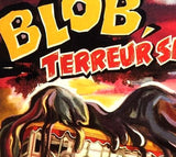 The Blob French Movie Poster | Black Unisex T-Shirt