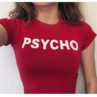 PSYCHO Women's Crop Top