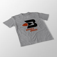 Buffalo Braves Heather Grey Unisex T-Shirt