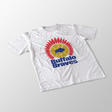 Buffalo Braves White Unisex T-Shirt