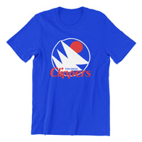 cool san diego los angeles clippers nba basketball awesome vintage blue unisex t-shirt