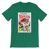 Karate Hand of Death Green T-Shirt