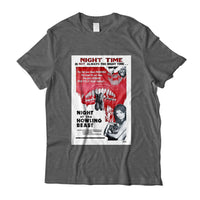 night of the howling beastmovie poster dark heather t-shirt.jpg